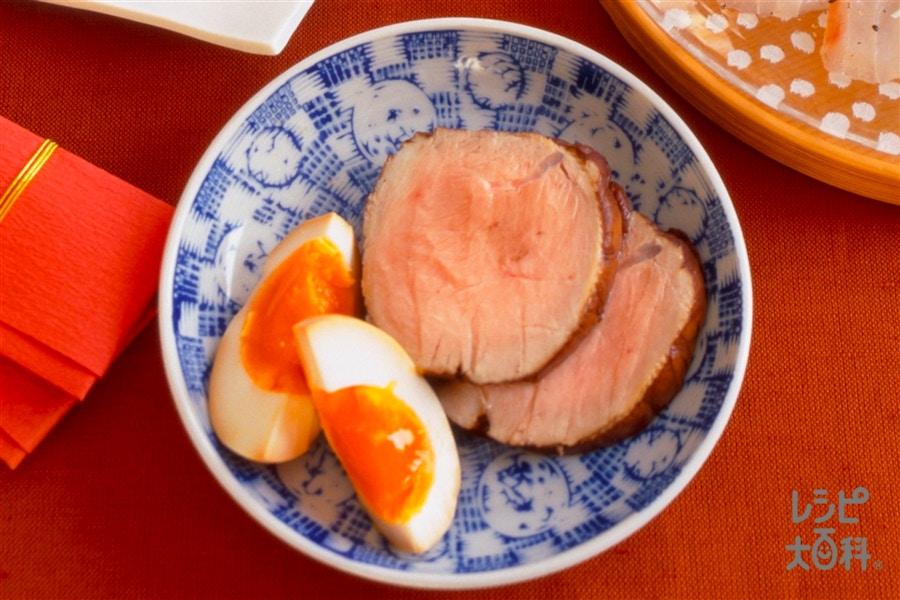 豚肉と卵のゆずしょうゆ漬け