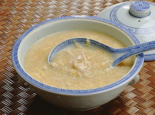 中国風コーンスープ