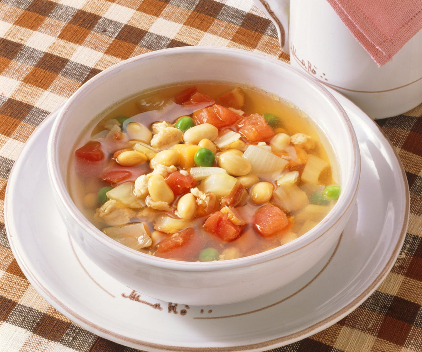 大豆のスープ