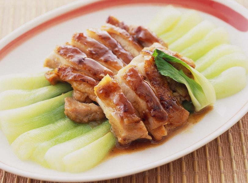 とり肉の中国風鍋照り