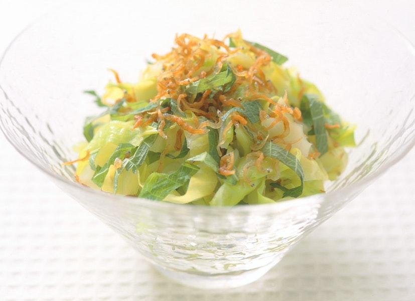 カリカリしらすのサラダ