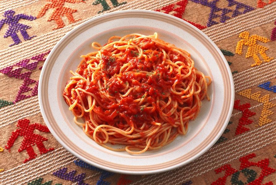 たまねぎとベーコンのスパゲティ