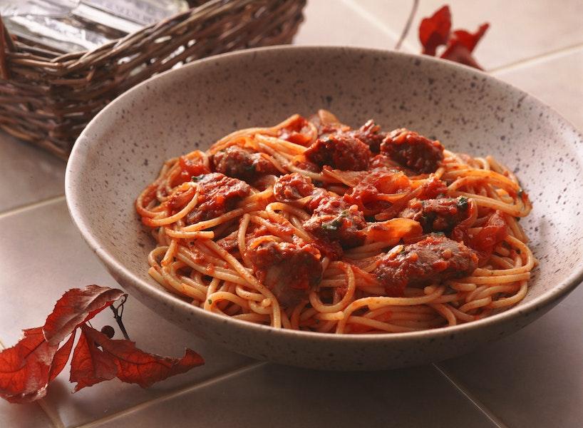 とりレバーのスパゲティ