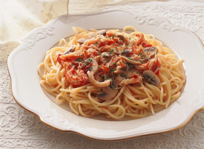 かにのスパゲティ