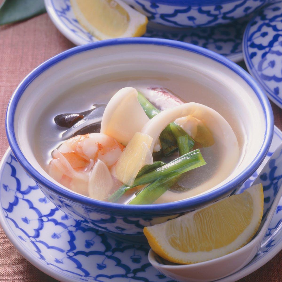 エスニック風スープ