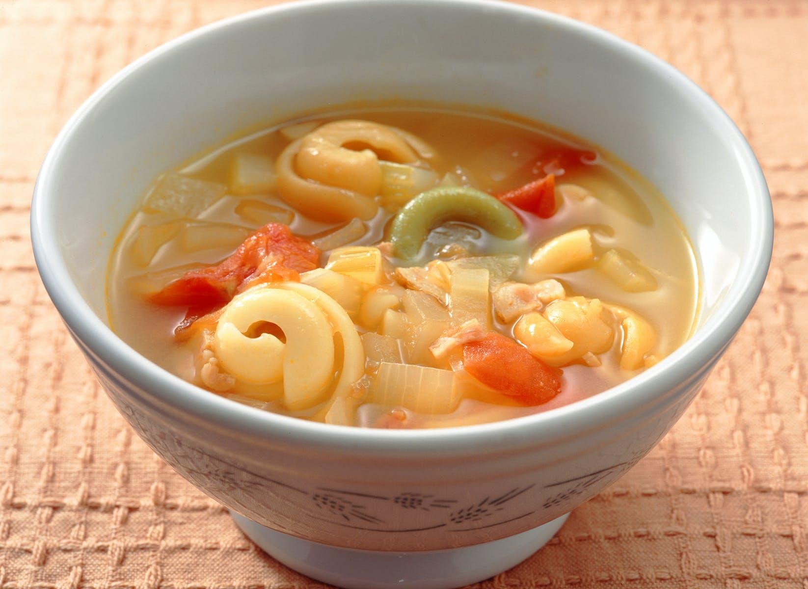パスタのスープ
