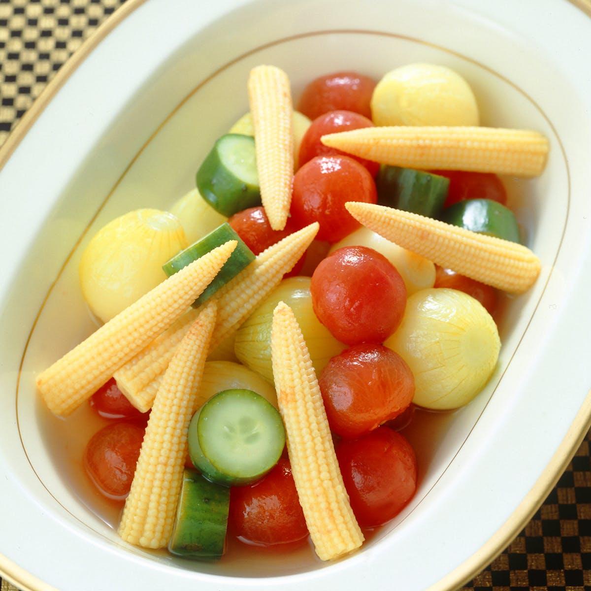ミニ野菜のなます