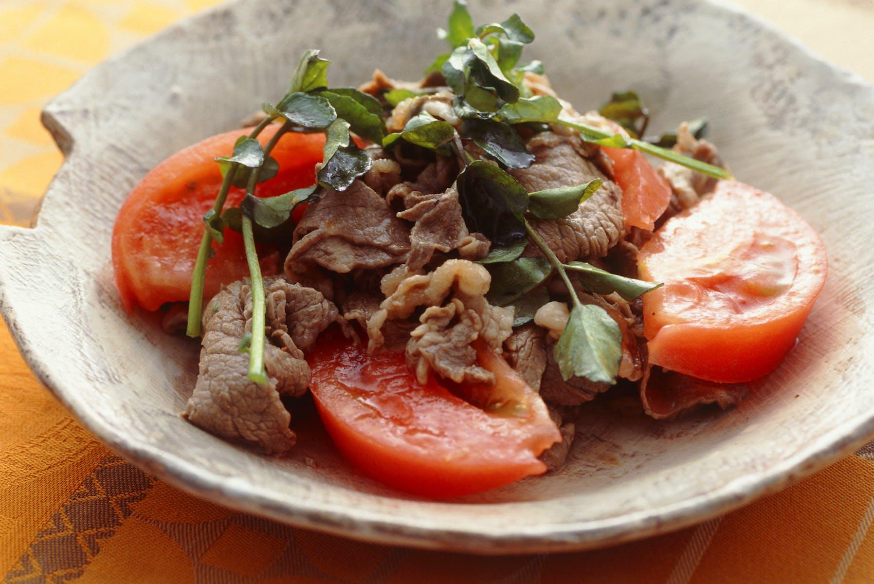 牛肉のマリネサラダ