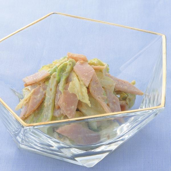 ゆでキャベツのごま風味サラダ