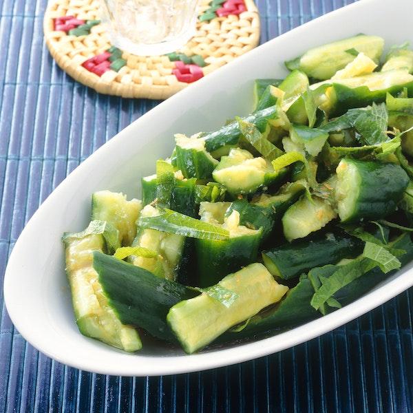 たたききゅうりのサラダ