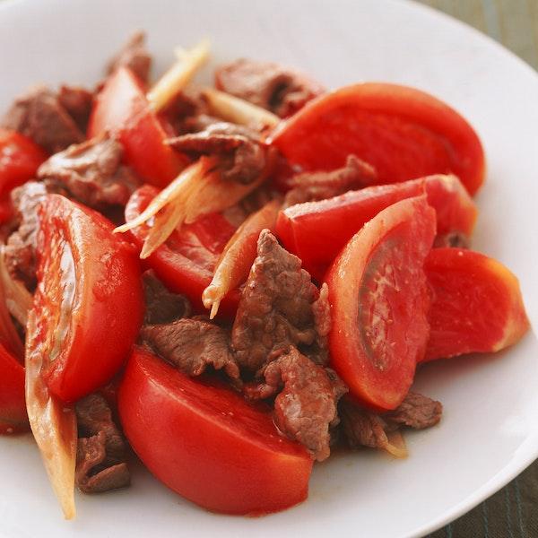 牛肉とトマトのいためもの