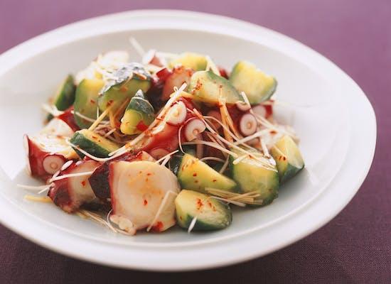 たこときゅうりの中華サラダ