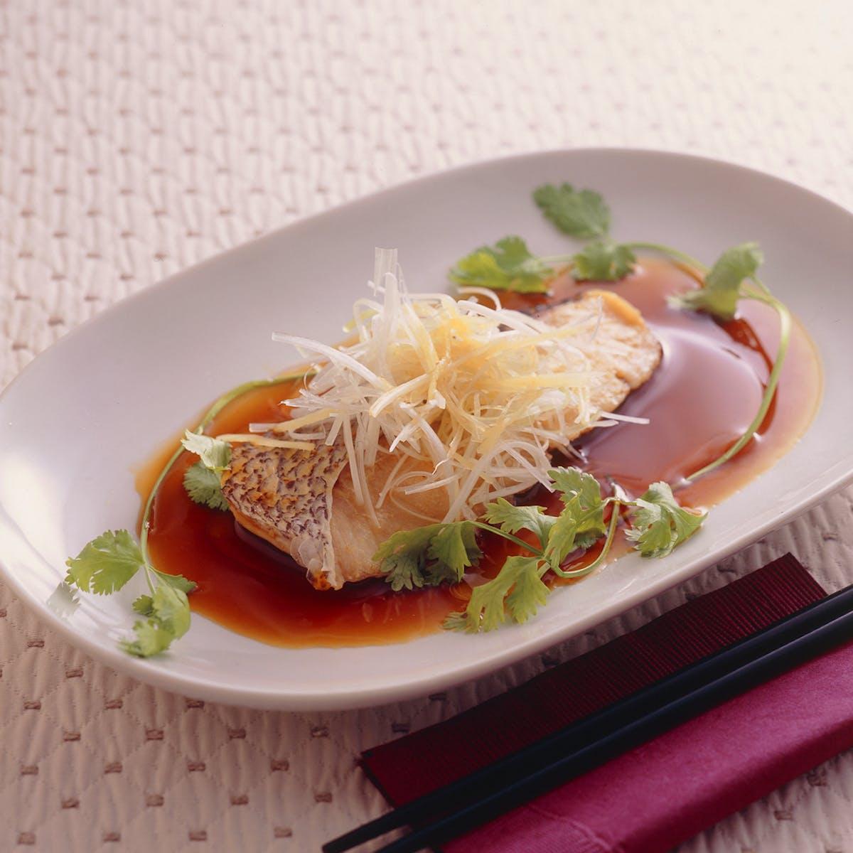 鯛の中国酒蒸し