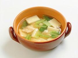 高野どうふのスープ