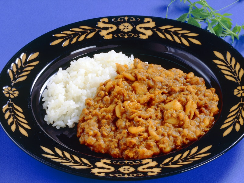 いんげん豆のカレー