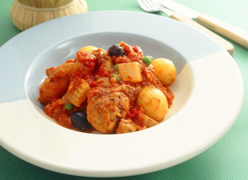 カチャトーラ(とり肉のトマト煮)