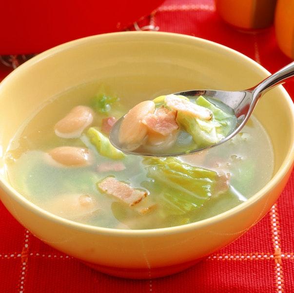 いんげん豆のスープ