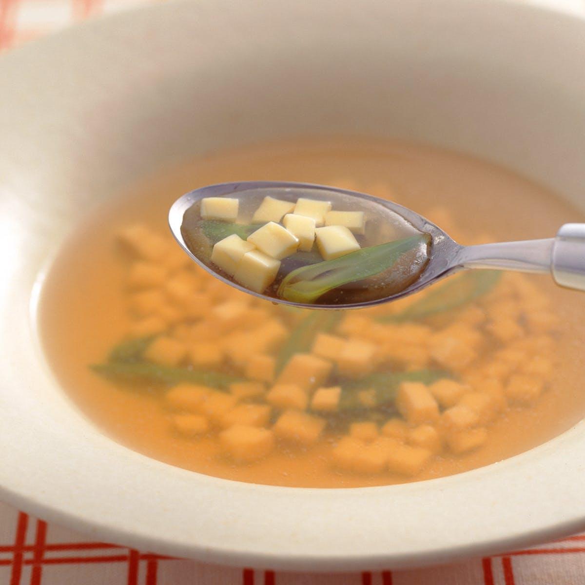 たまごどうふのスープ