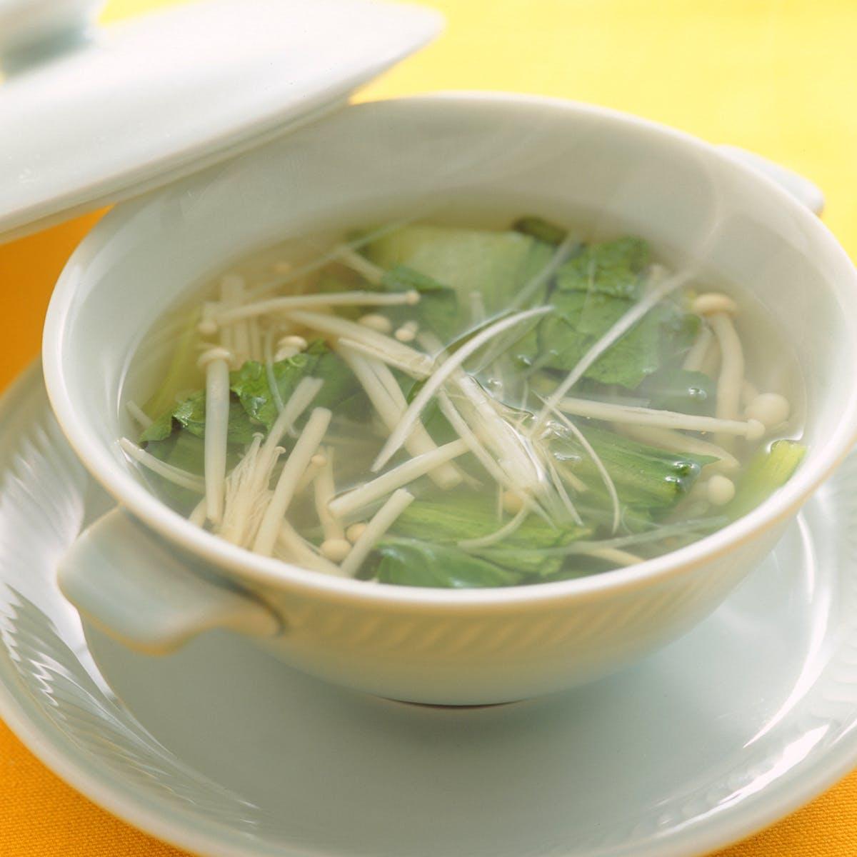 チンゲンサイのさっぱりスープ