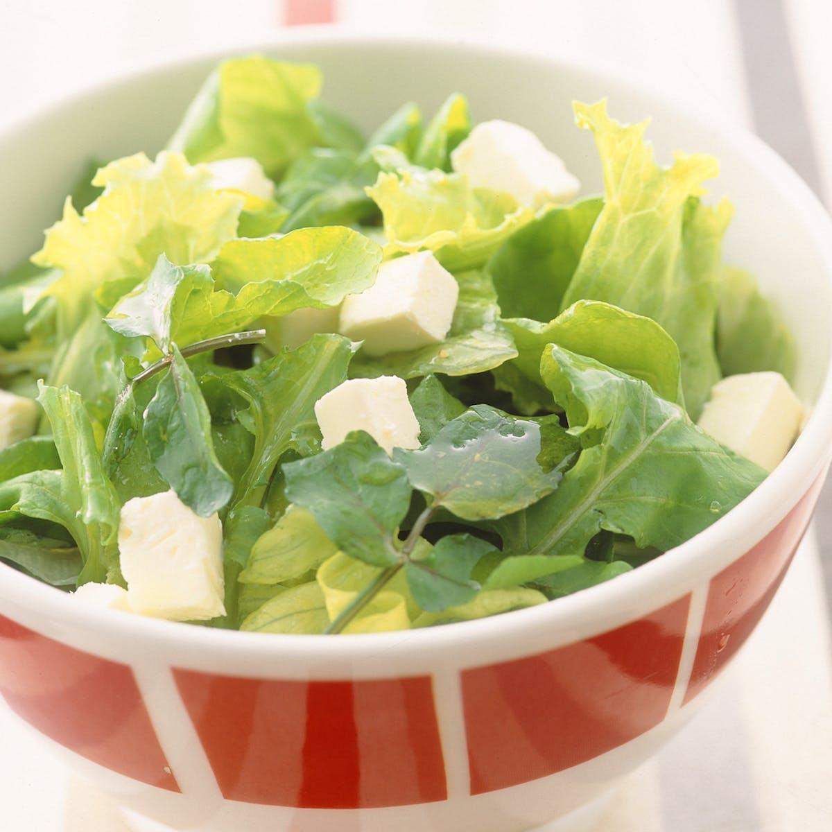 グリーンのサラダ