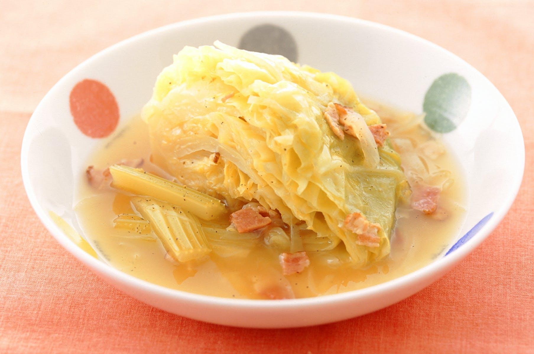 キャベツのスープ煮