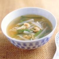 もやしの中華スープ