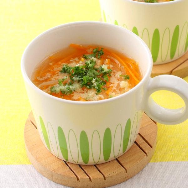 にんじんスープ