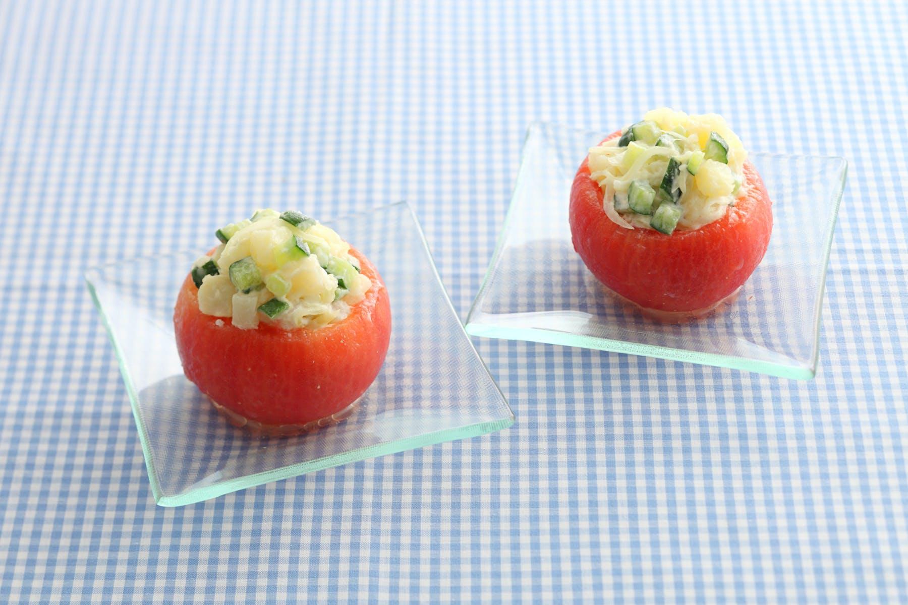 トマトのカップサラダ