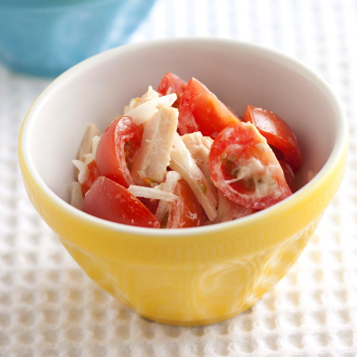ミニトマトとツナのサラダ