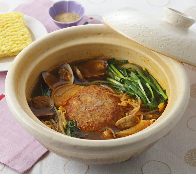 韓国風ひき肉鍋