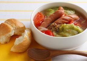 レタスたっぷりスープ