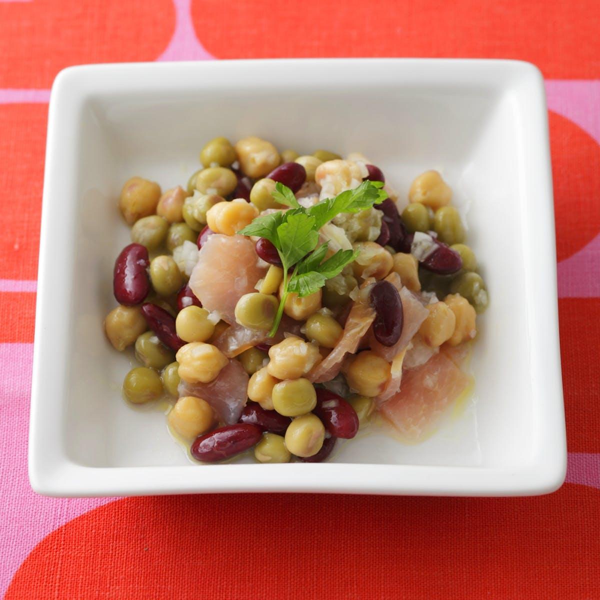 豆のイタリアンサラダ
