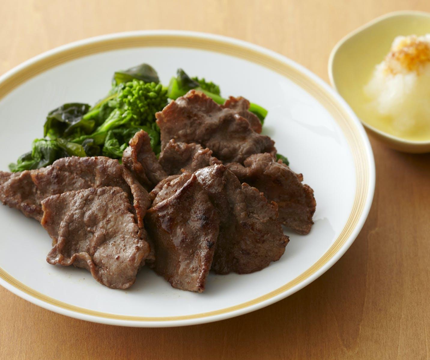牛肉の和風ソテー
