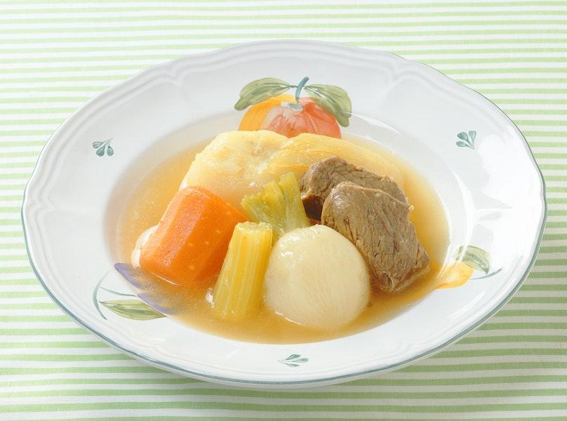 牛肉と野菜のスープ煮