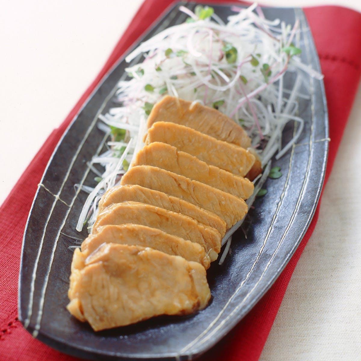 かんたんレンジ焼き豚