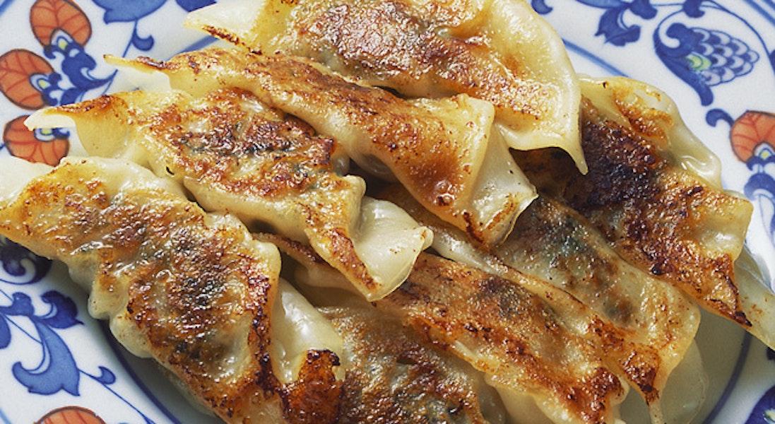 タアサイの焼き餃子
