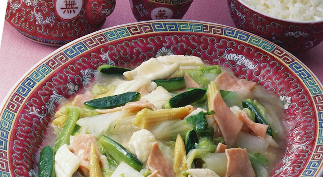 いかと白菜の煮物