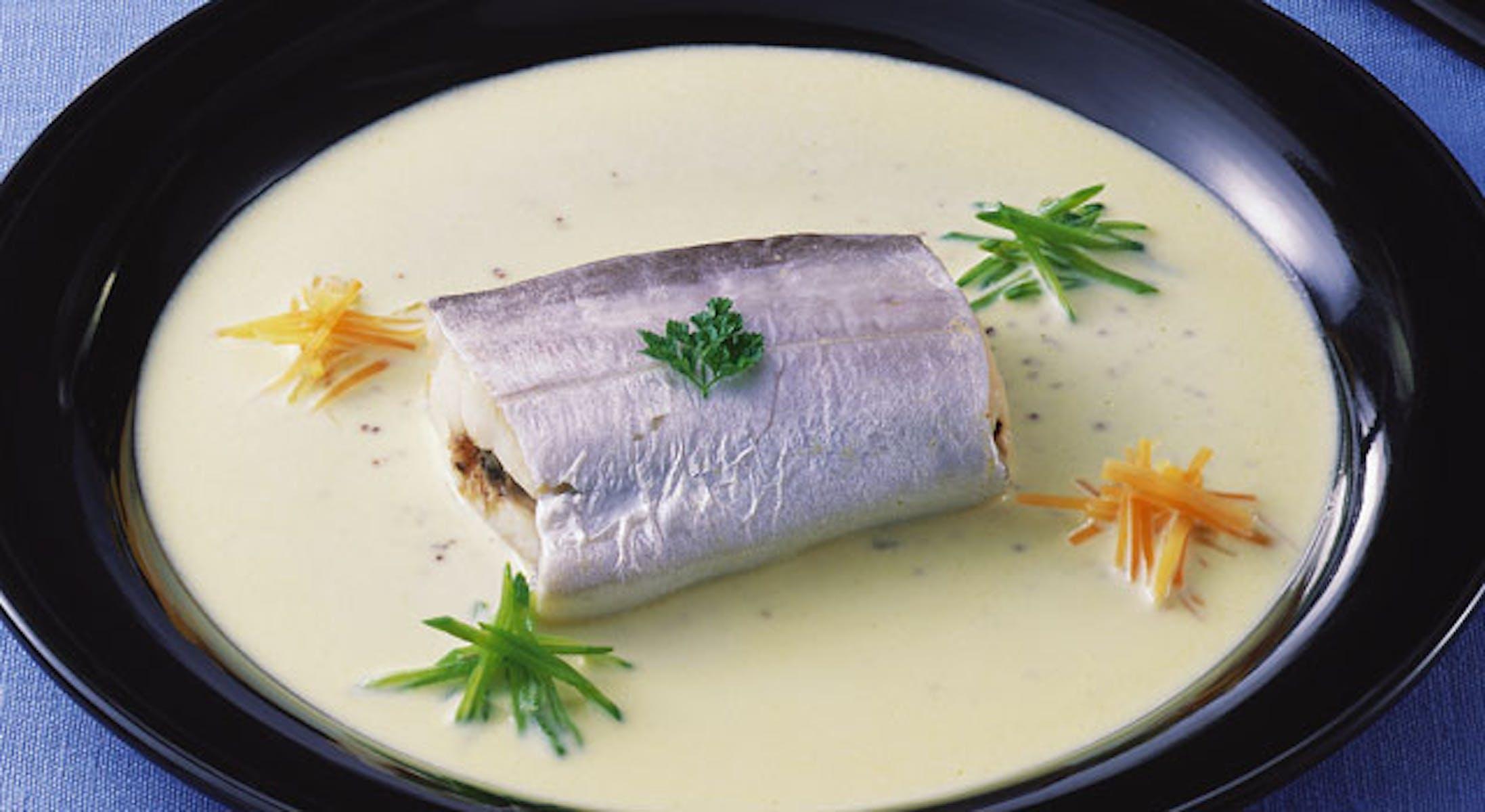 太刀魚の粒マスタードソース