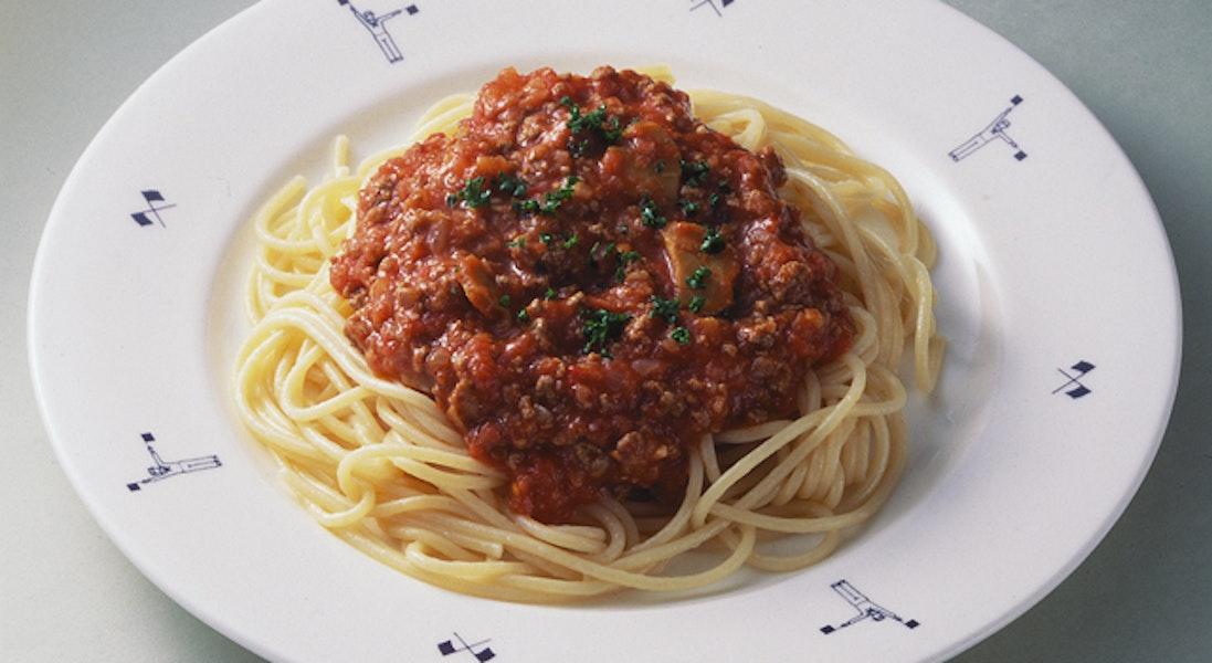 濃厚ミートソーススパゲッティ