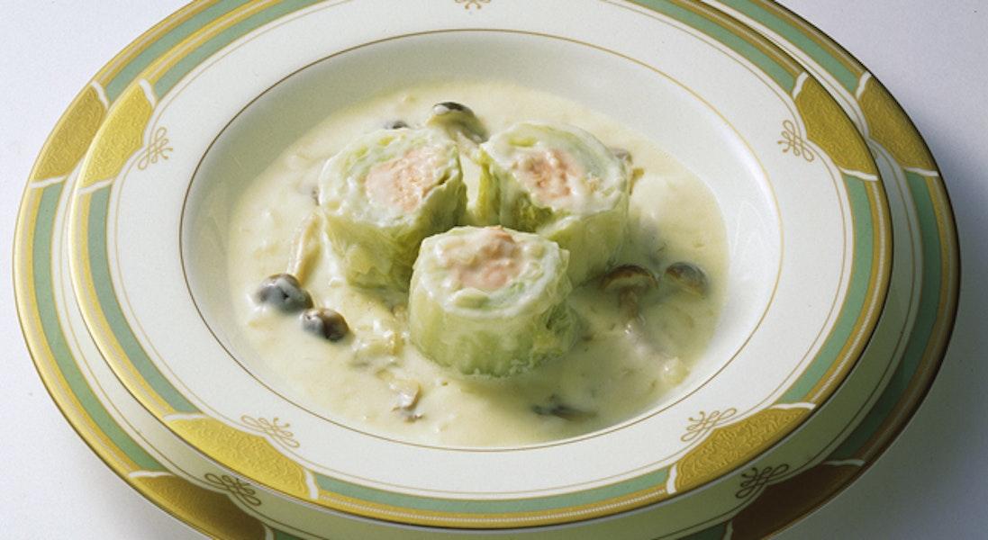 ロール白菜の洋風煮