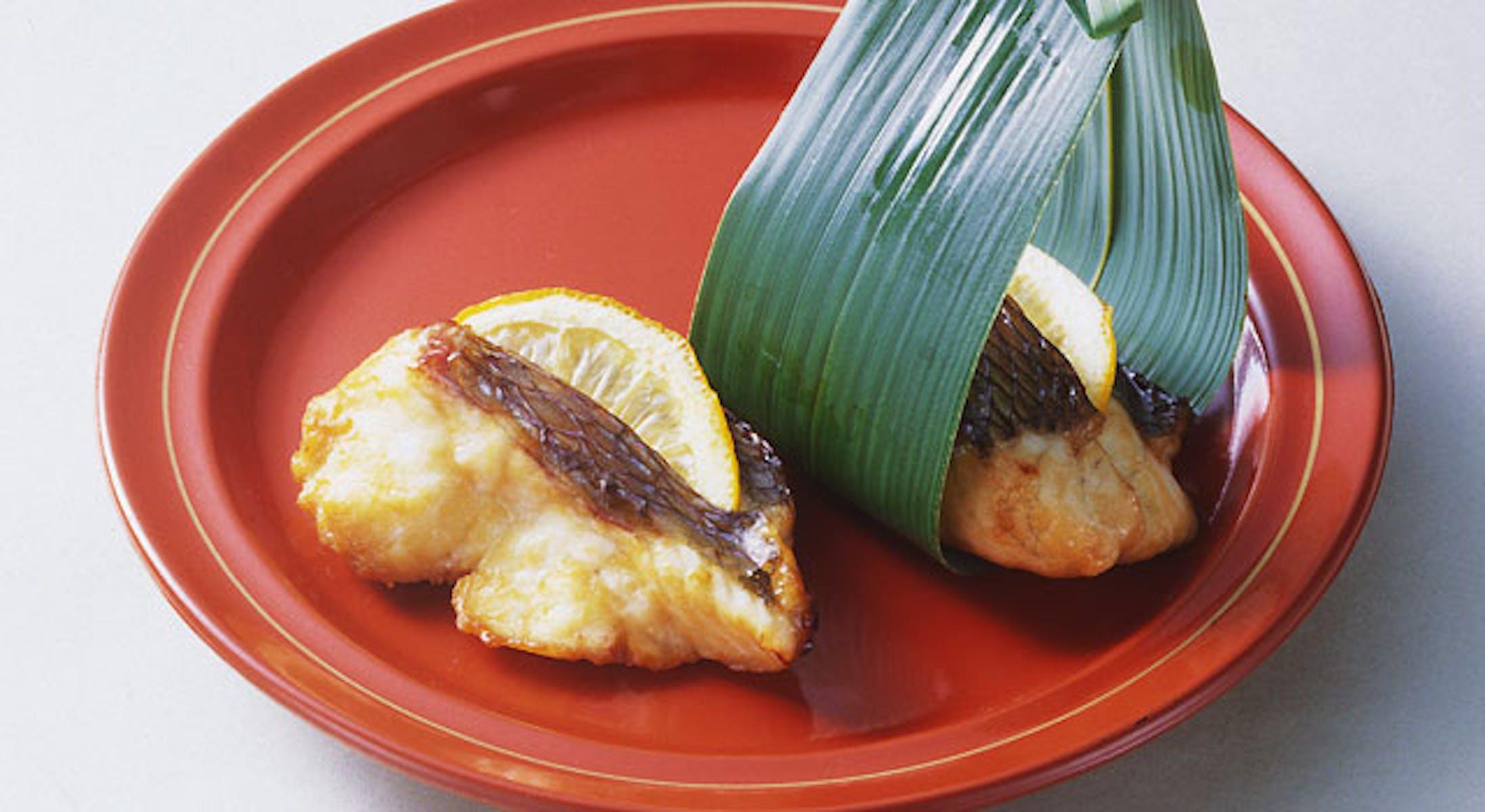 鯛の柚香焼き