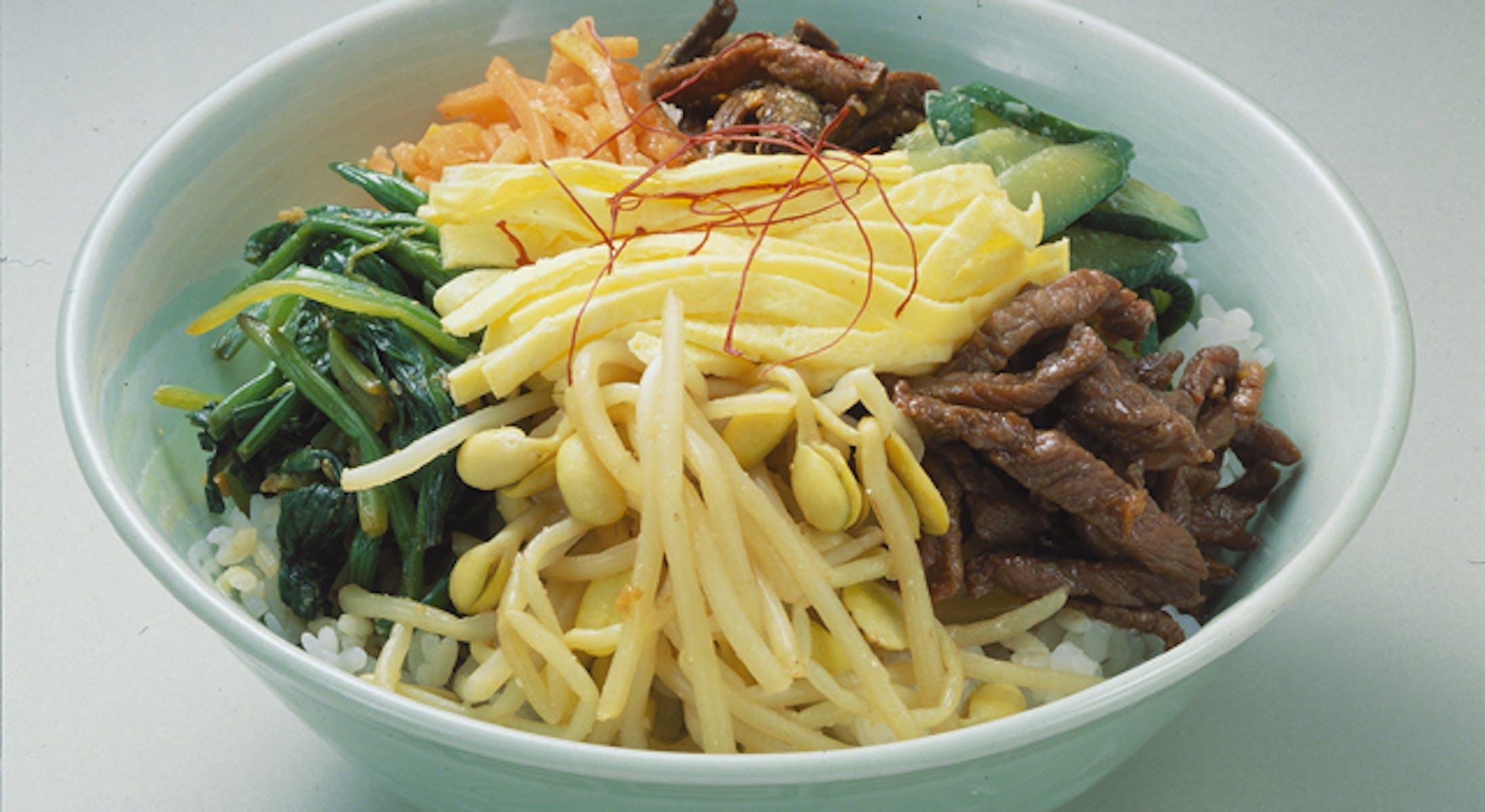 韓国風五目丼