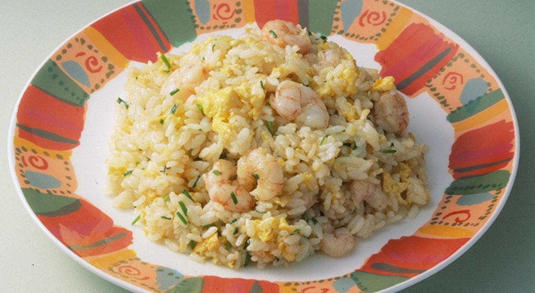 卵とえびの炒飯