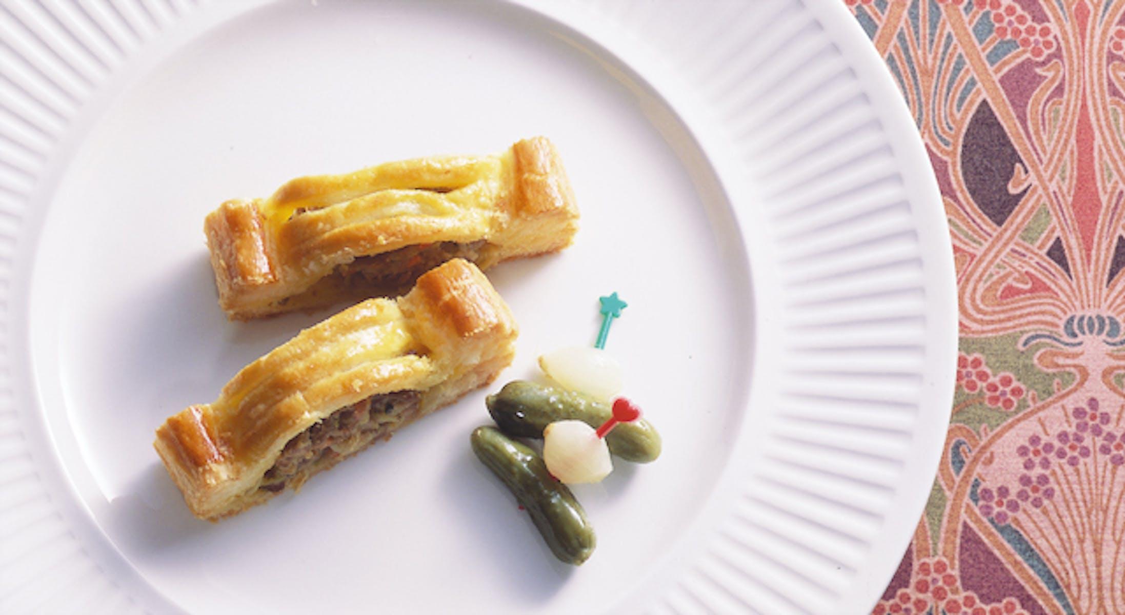 肉と野菜のパイ包み