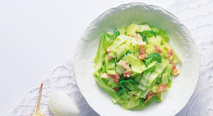 キャベツのホットサラダ
