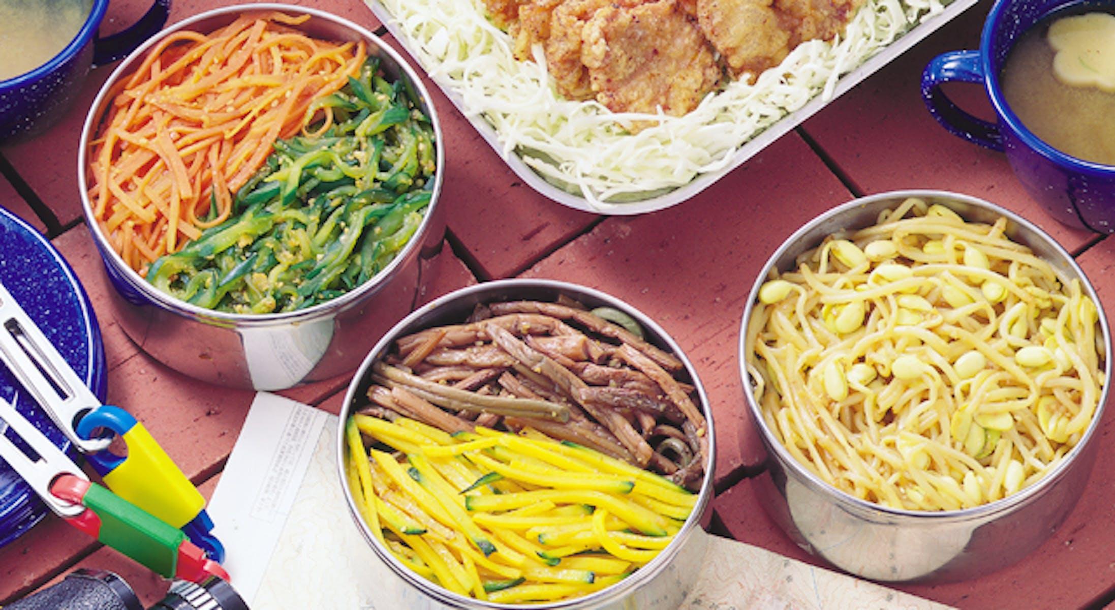 夏野菜のナムル