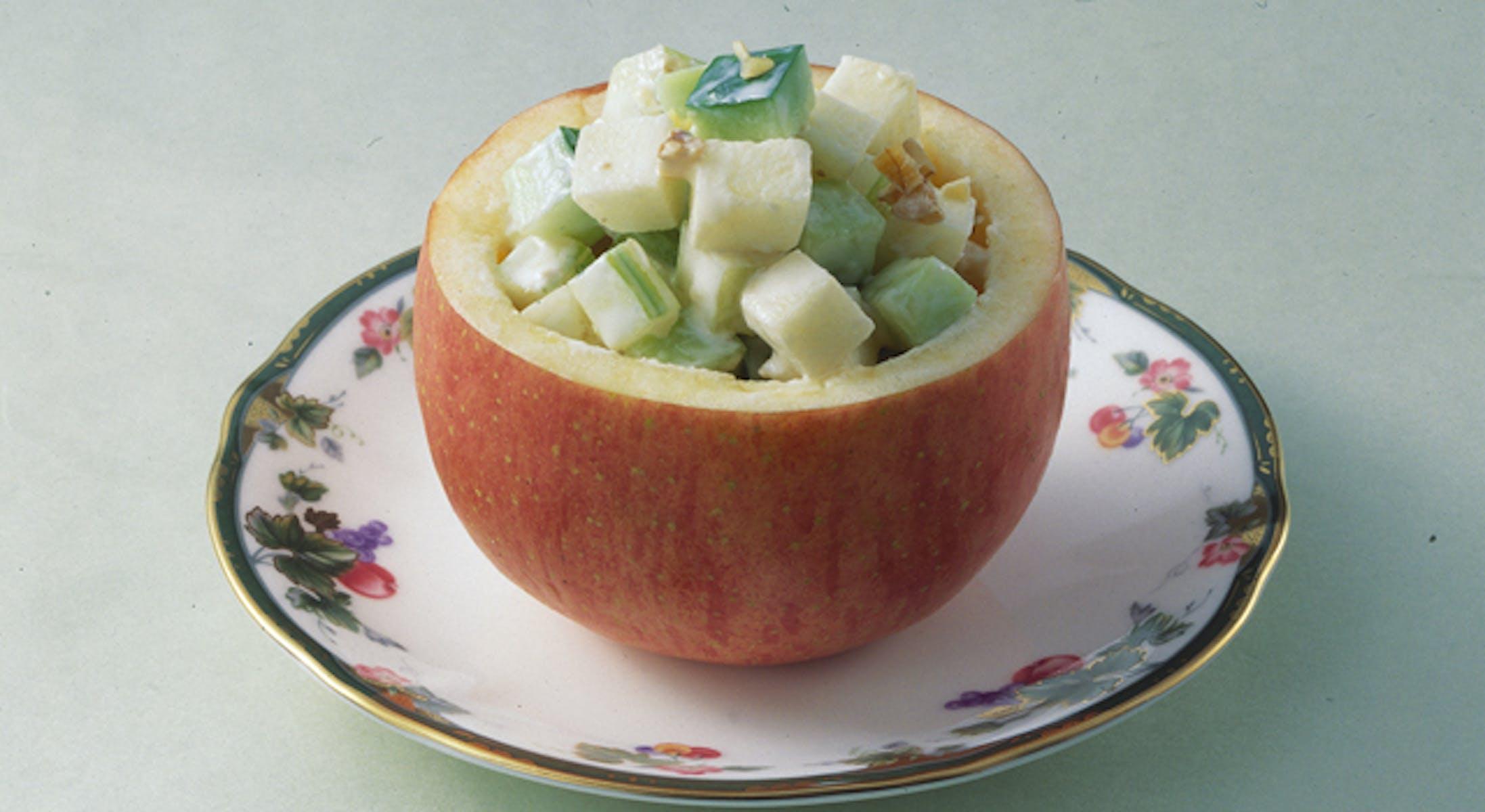 りんごヨーグルト風味サラダ
