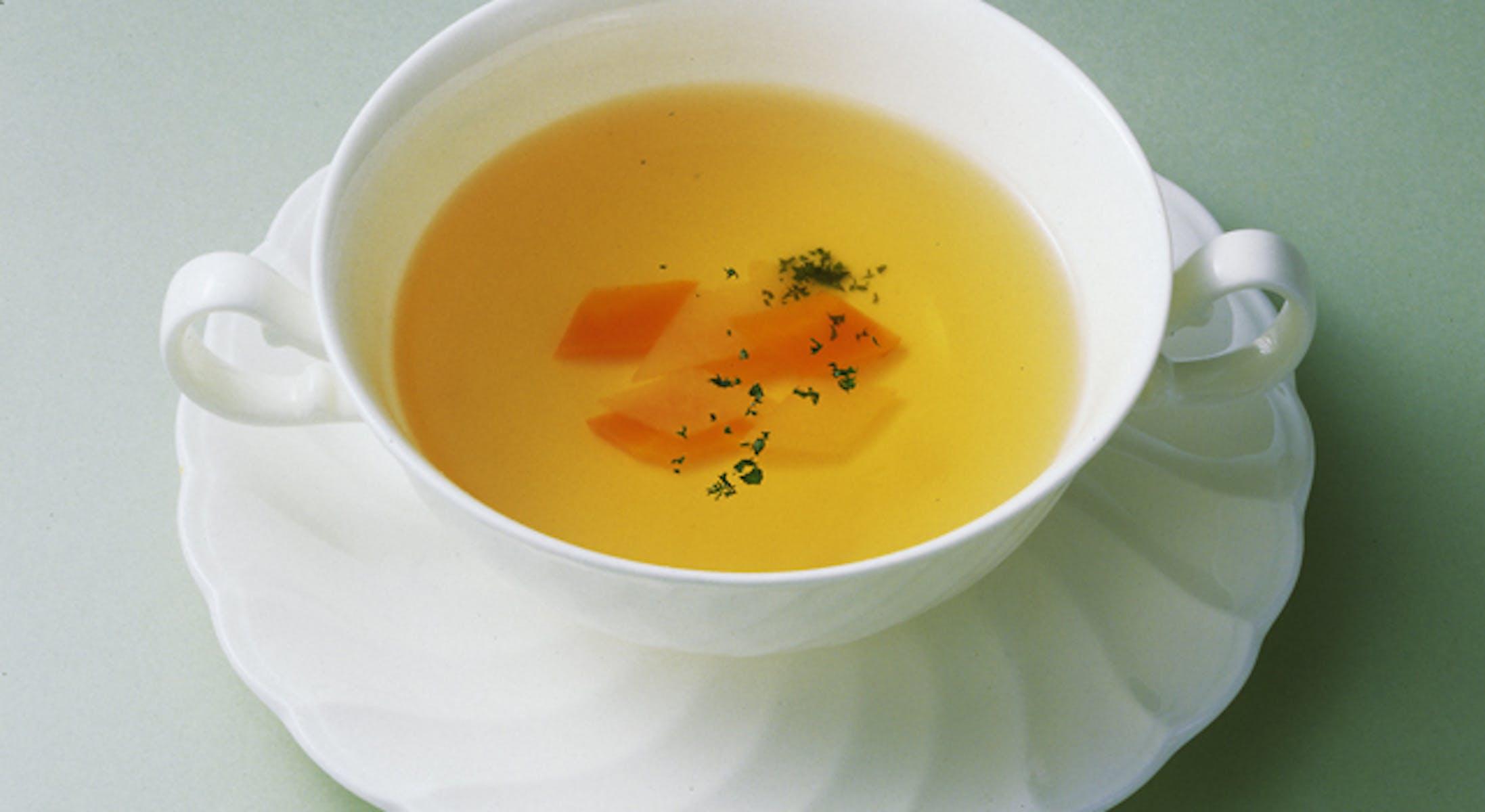 ひなまつりのコンソメスープ