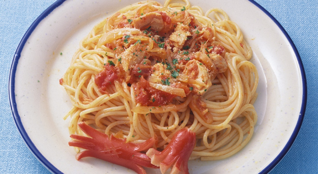 スパゲッティトマトソース(子供向)