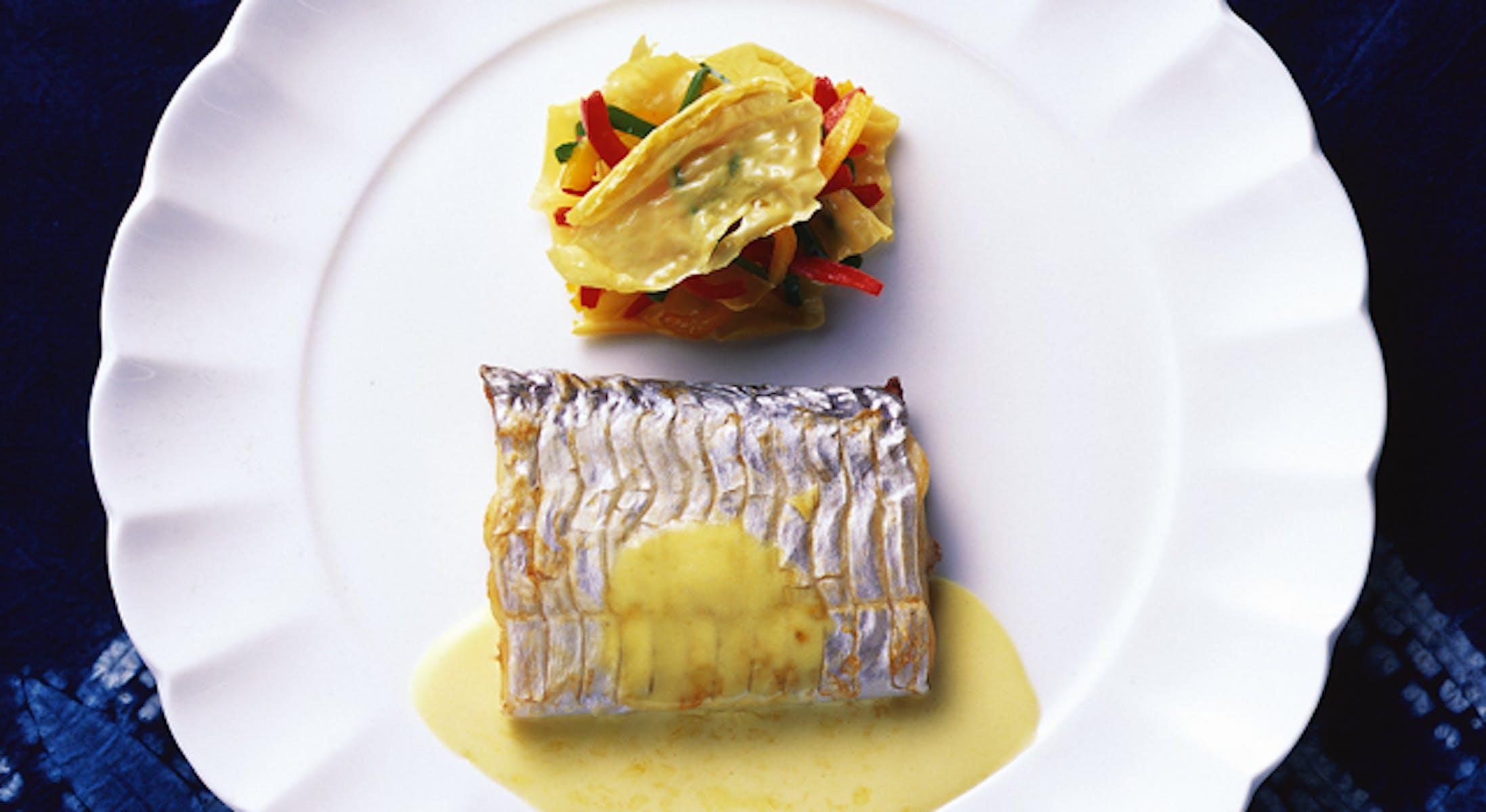 太刀魚のオランデーズソース